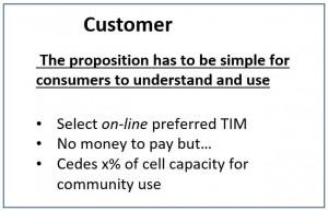 Consumer TIM proposition